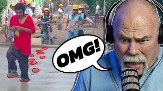 Roger Reacts To Funny Plumbing Stories | Real Plumber Reacts