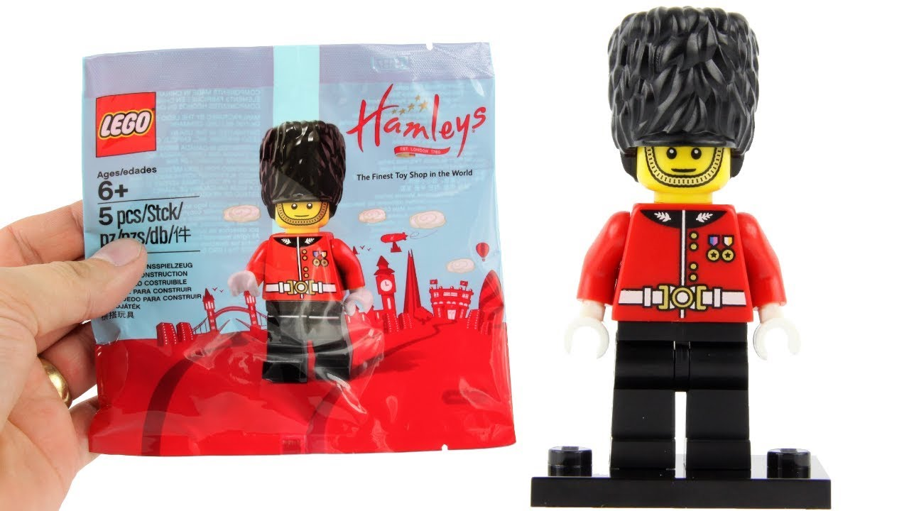 *IN HAND* NEW SEALED Lego 5005233 Hamleys Exclusive Royal Guard Polybag