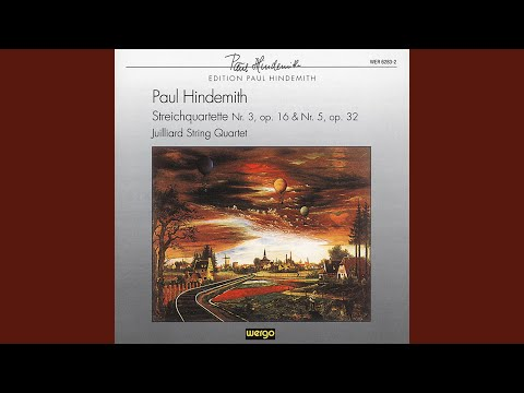String Quartet No  5 in E-flat major, Op  32 - Paul Hindemith