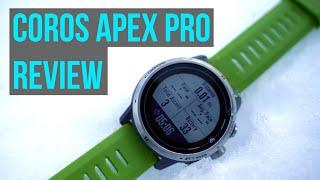 Coros Apex Pro Review - Does it compete with Garmin Fenix 6?