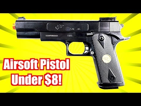Airsoft Pistol For UNDER 8$ IS IT WORTH IT?