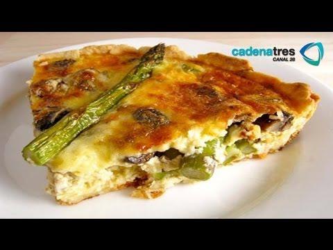 Receta de chiche de esp rragos recetas de comidas f ciles - Comidas baratas y rapidas ...