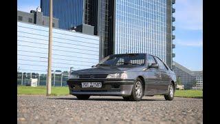 """Peugeot 405 MI-16: """"горячий"""" седан из 1980-х"""