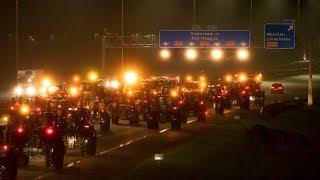 LIVE: drukste ochtendspits ooit door boerenprotest