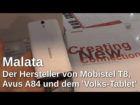 Malata, der Hersteller hinter Mobistel T8, Avus A84 und dem Volks-Tablet - www.technoviel.de