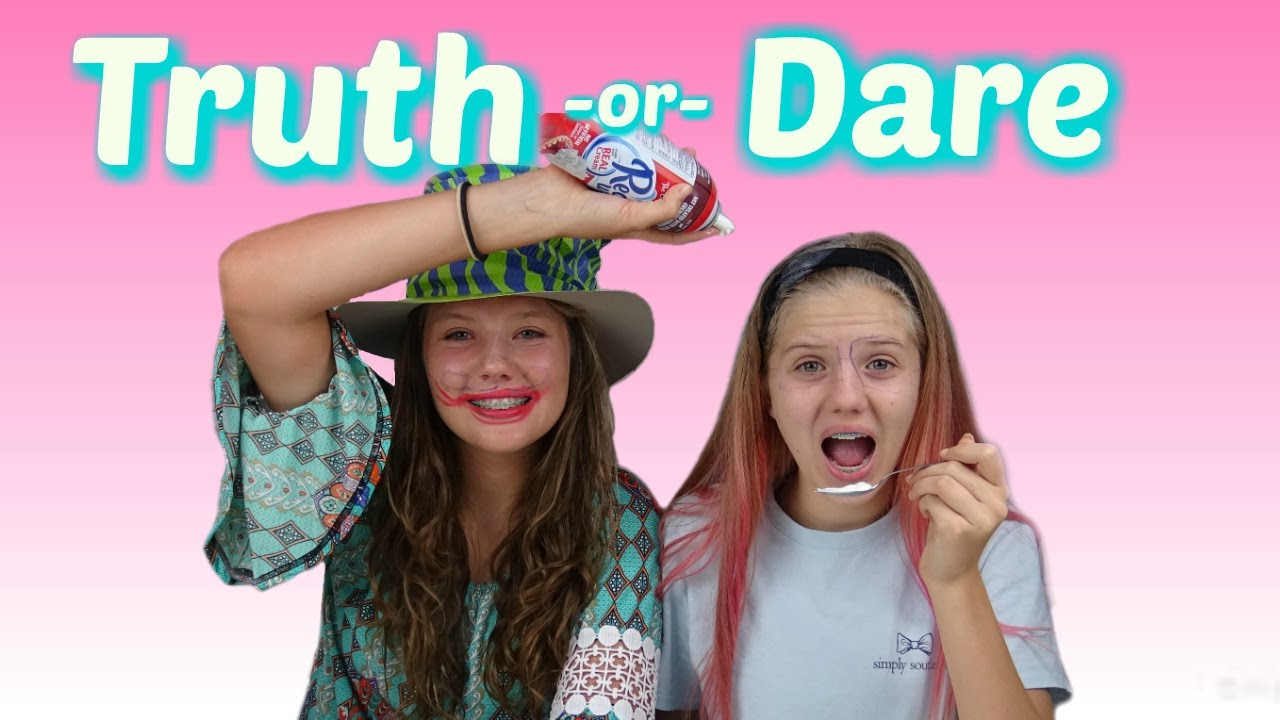 TRUTH OR DARE CHALLENGE   FUNNY VIDEO    Taylor and ...