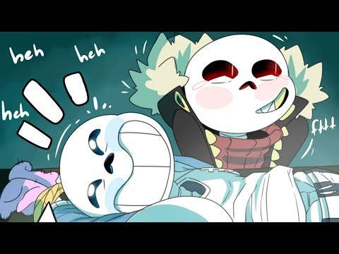 How To Greet A New Pal And Cute Sans【 Undertale Comic Dub 】