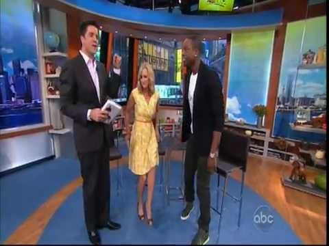 September 05, 2012  ABC  Dwayne Wade on Good Afternoon America about his New Book: A Father First