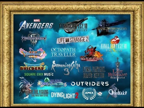 Presentación Square Enix | E3 2019 | Final Fantasy VII Remake | Final Fanasy VIII Remastered