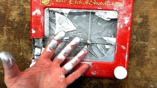 Look Inside An Etch A Sketch And See How It Works!