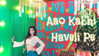Aao Kabhi Haveli Pe | STREE | Dance Cover | Kriti Sanon | Badshah