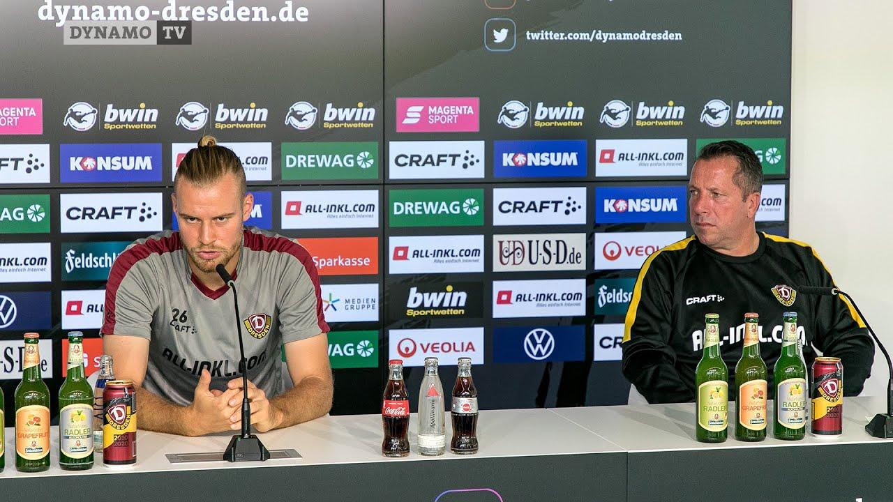 1. Spieltag   FCK - SGD   Pressekonferenz vor dem Spiel