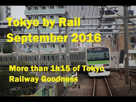 Tokyo by Rail. September 2016