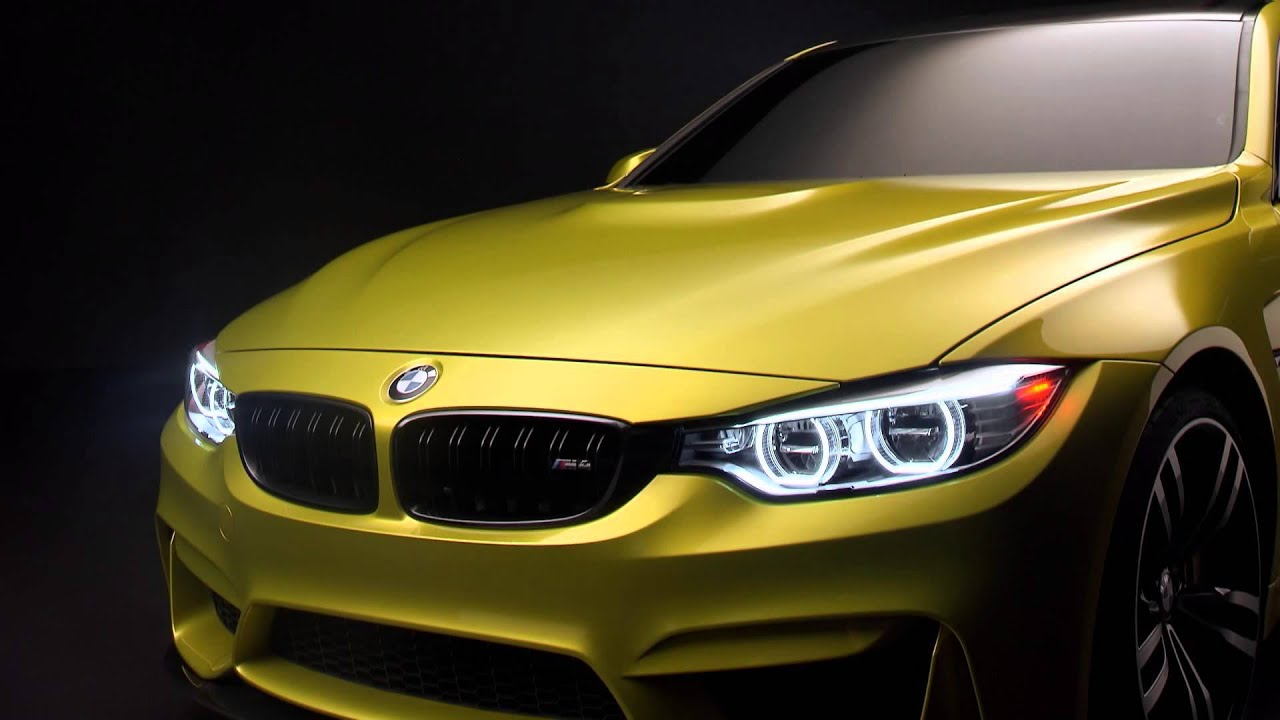 BMW M4 konsepti ilk tanıtım videosu // ototest.tv