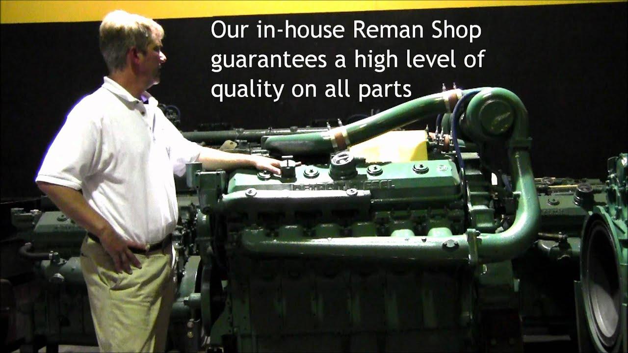 Detroit Diesel Remanufactured 12V71T Engine