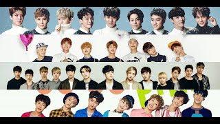Top 10 Most Popular K pop Boy Groups (2018)
