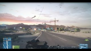 Battlefield 3 - Armored Kill Gameplay + AC130 Footage
