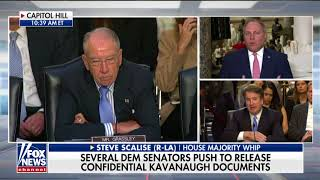 'Beneath the Dignity of the Senate': Scalise Rips Booker's 'Spectacle' at Kavanaugh Hearing