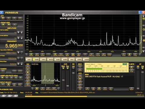 5964.7kHz RTM Klasik Nasional FM Feb18 1929UTC