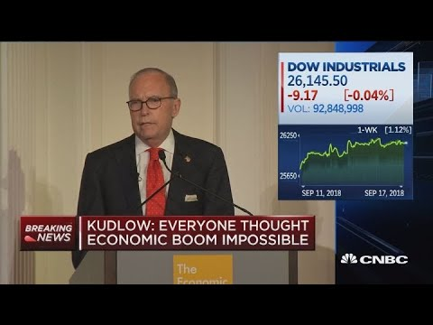 Larry Kudlow says business and consumer sentiment is rising