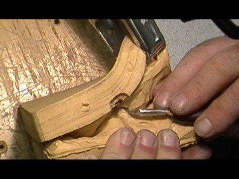 Making Castaldo Rubber Jewelry Mold Cutting Bracelet Molds