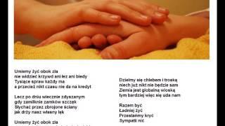 """Zbigniew Wodecki """"Nauczmy się żyć obok siebie"""""""