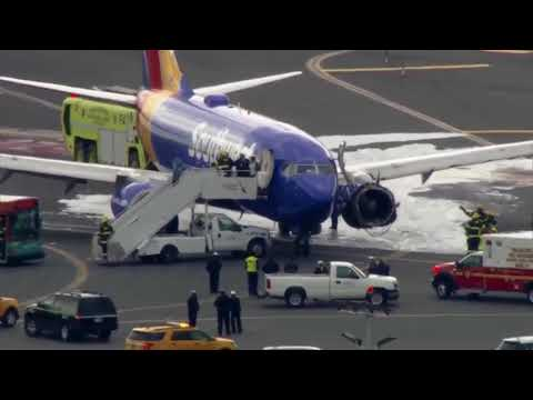 Southwest Airlines jet engine failure kills passenger on board airplane