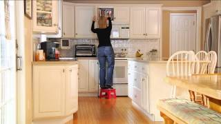 Kikkerland Set Of 2 Easy-fold And Easy-store Step Stools With Jill Bauer