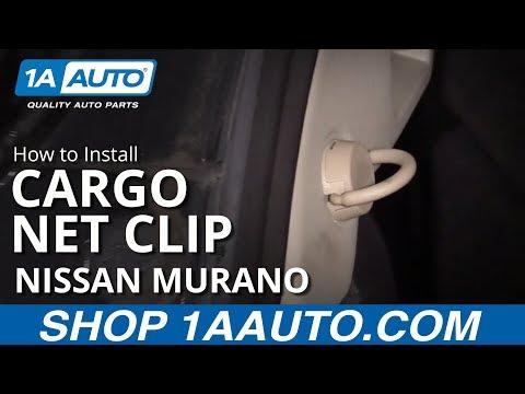 How to Install Cargo Net Clip 09-14 Nissan Murano