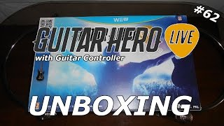 Guitar Hero Live with Guitar Controller (Wii U) - Unboxing #62