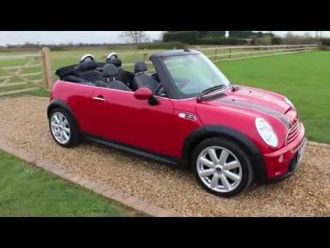 Mini Cooper S Convertible Red Chilli Pack For