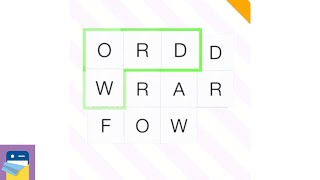 Word Forward: iOS / Android Gameplay Walkthrough Part 1 (by Rocketship Park)
