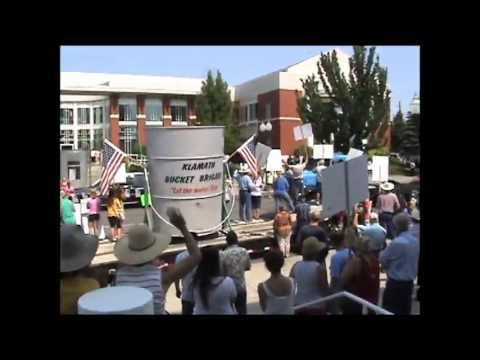 Klamath Basin Water Users Rally July 1, 2013