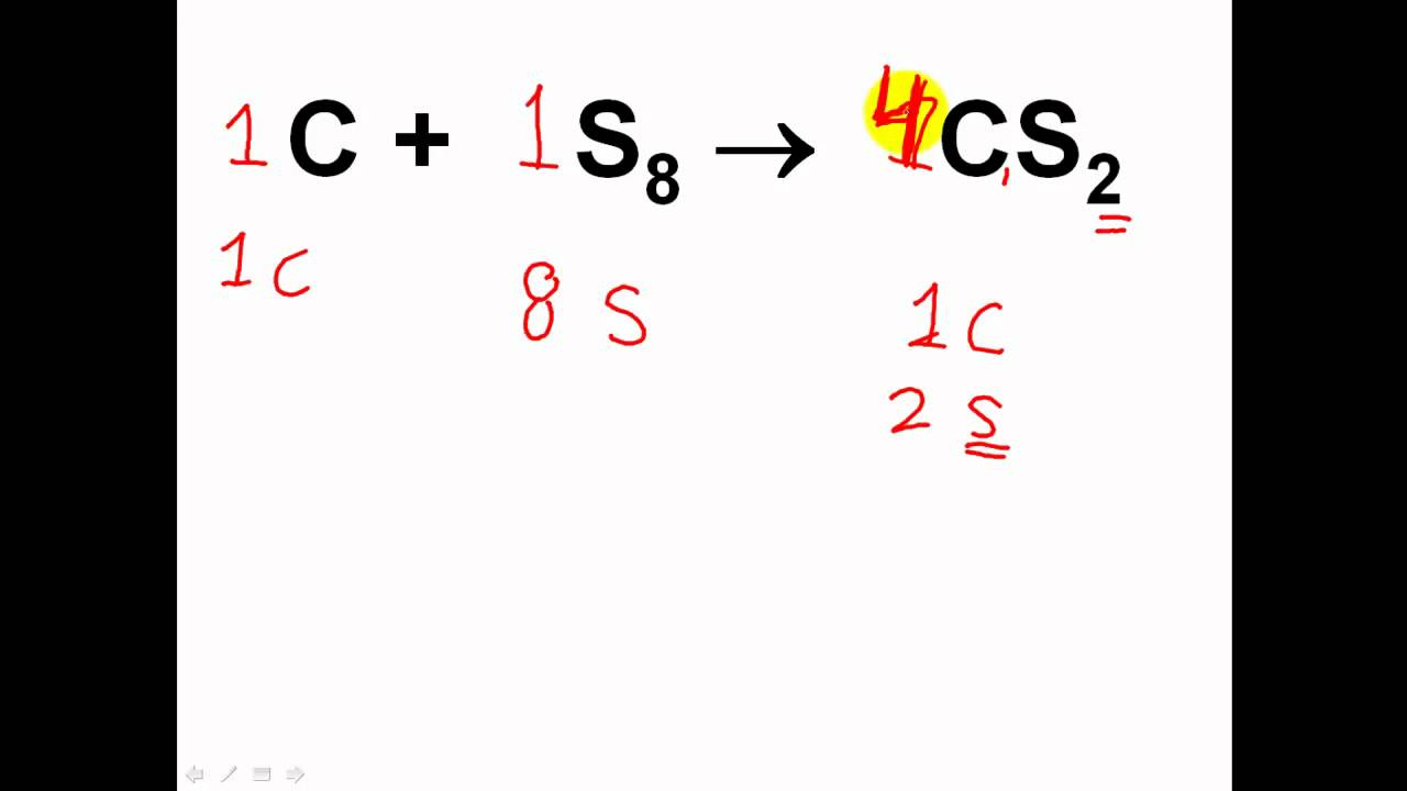 Grade 10 Chemistry Balancing Chemical Equations Practice