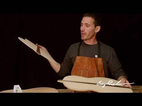 Watch Shaving the Soundboard of Classical and Flamenco Guitar by Erez Perelman Master Luthier