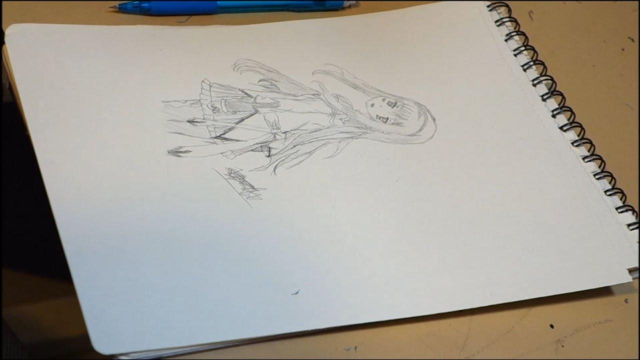 Puella Magi Madoka Magica Drawing Homura Akemi