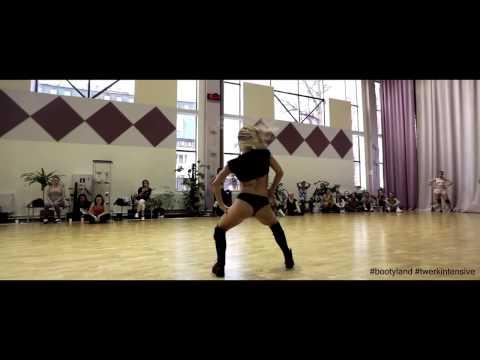 'TWERK IT'   Busta Rhymes Feat  Nicki Minaj TWERK choreo by FRAULES