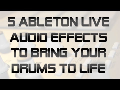 Enhance Drum Loops with 5 Ableton Live...