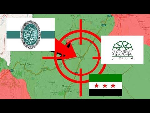 Terroristas vs terroristas | Guerra siria 20/7/2017