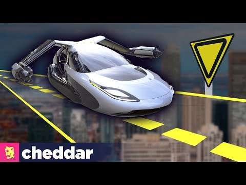 The Traffic Laws When Cars Can Fly - Cheddar Explores