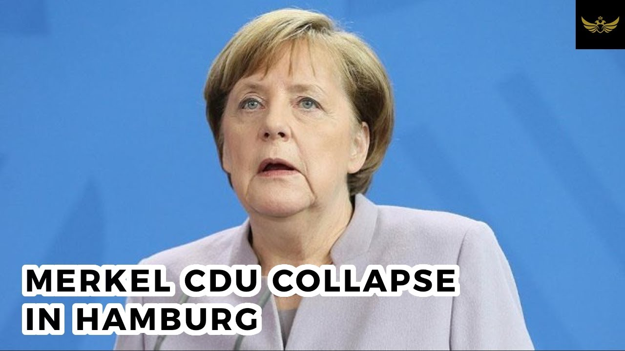 Merkel's CDU collapse continues in Hamburg elections