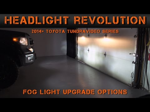 2014-2017 Toyota Tundra Fog Light Options  - Tundra Video Series (2) | Headlight Revolution