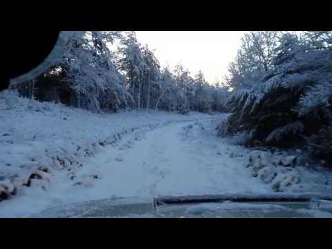 Off roading. Myles Standish Forest. 2010 Hummer H3 Alpha
