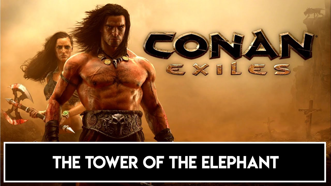 Conan Exiles The Tower Of The Elephant Trophy Achievement Youtube