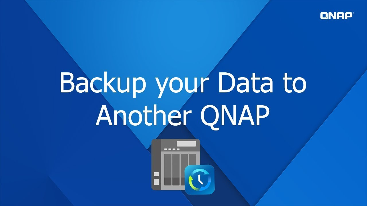 QNP 332 - Backup your data to another QNAP