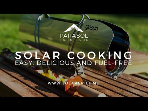 The GoSun Solar Cooking Grill from Parasol Outdoor Furniture in Dubai