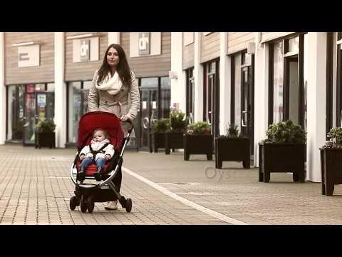 Babystyle Oyster Gem Stroller Mirror - Red / Kereta Dorong Bayi
