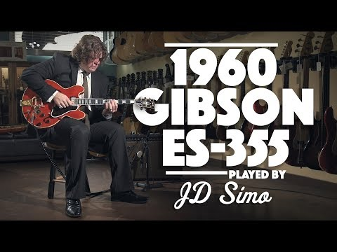1960 Gibson ES-355 played by JD Simo