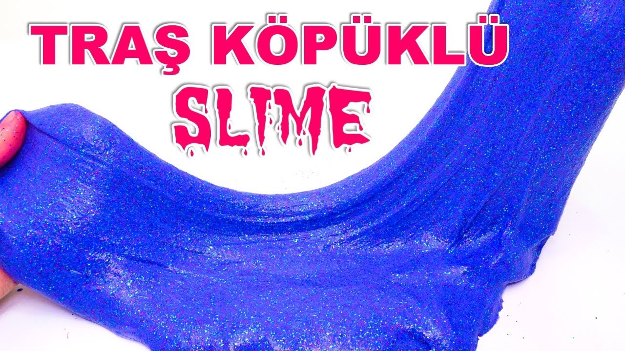 Slime Tarifi Slime Nasıl Yapılır 2017 Son Model Youtube
