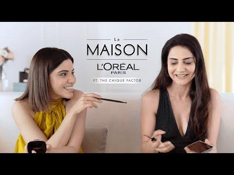 Simmy Goraya & Roshni Bhatia | Get Ready With Me | 5 Minute Makeup Challenge | Eva Longoria's Look
